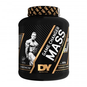 Gainer Game Changer Mass 3kg, 30 dávok, Cookies with Cream