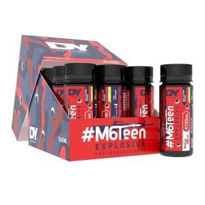 Predtréningový stimulant #M6Teen 12x60ml, Broskyňa