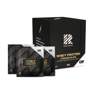 Renew Whey Protein Concentrate 900g Box, 30 Sachets/Servings, Strawberry