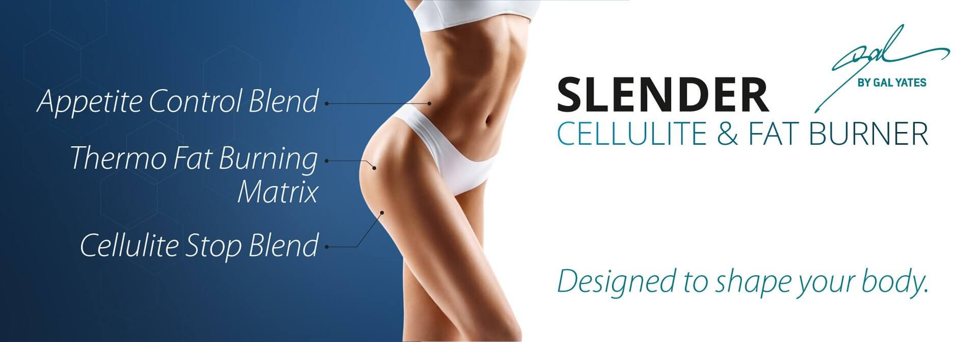 Spalovač tukov Slender Anti-Cellulite 450g